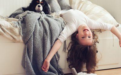 """""""Mama, ich kann nicht schlafen!"""" – Über sommerabendliche Turnübungen im Bett"""